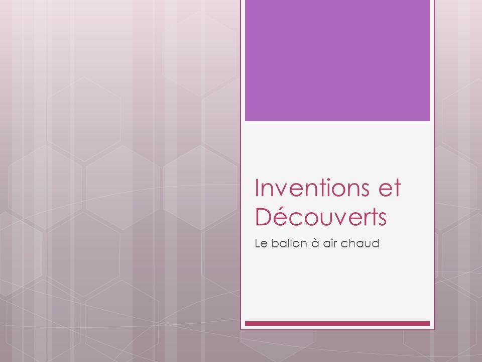 Inventions et Découverts