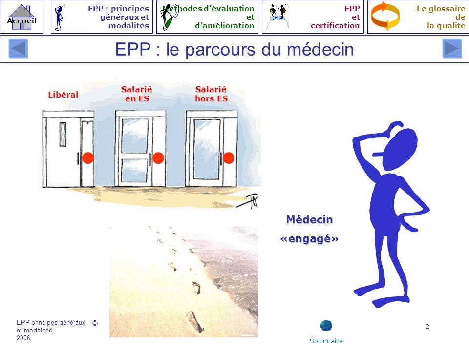 EPP : le parcours du médecin