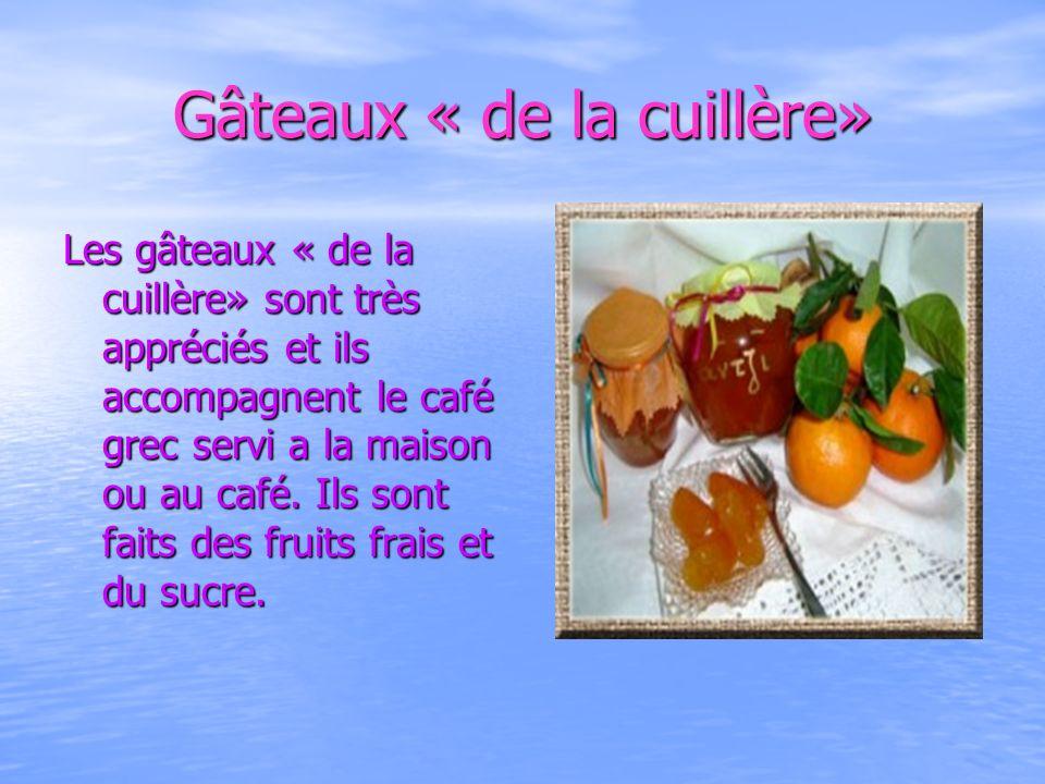 Gâteaux « de la cuillère»