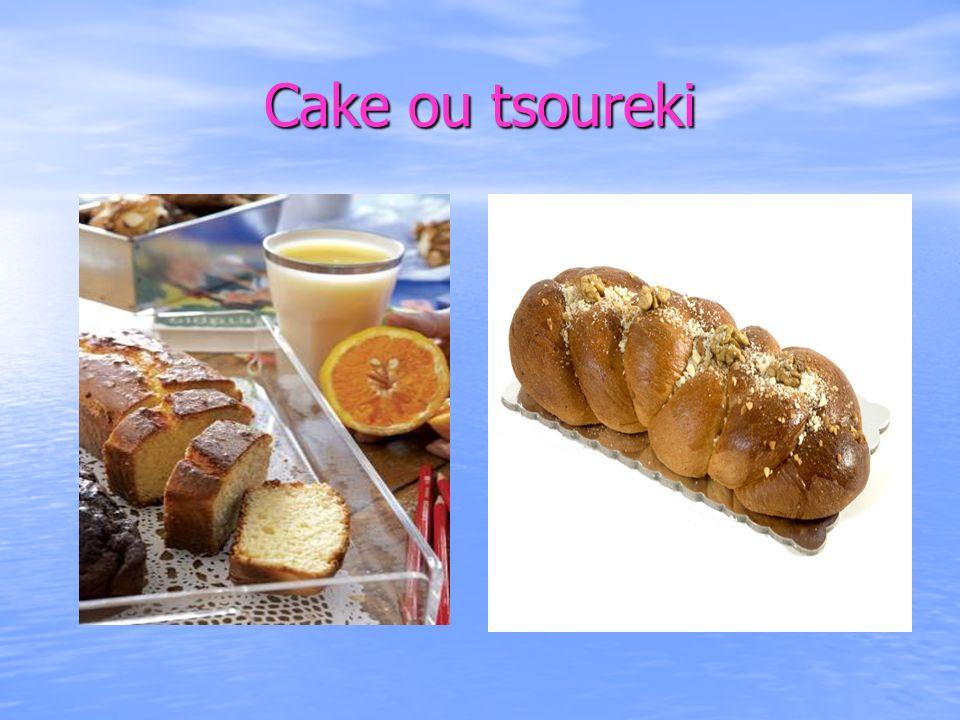 Cake ou tsoureki