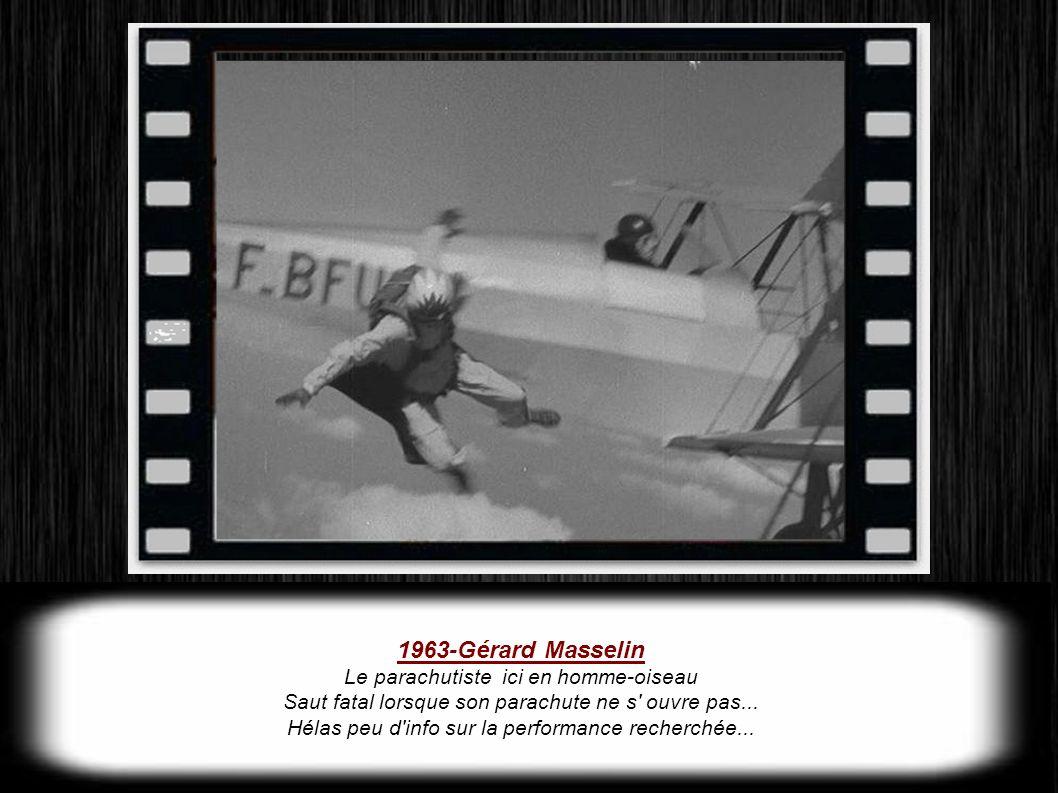 1963-Gérard Masselin Le parachutiste ici en homme-oiseau