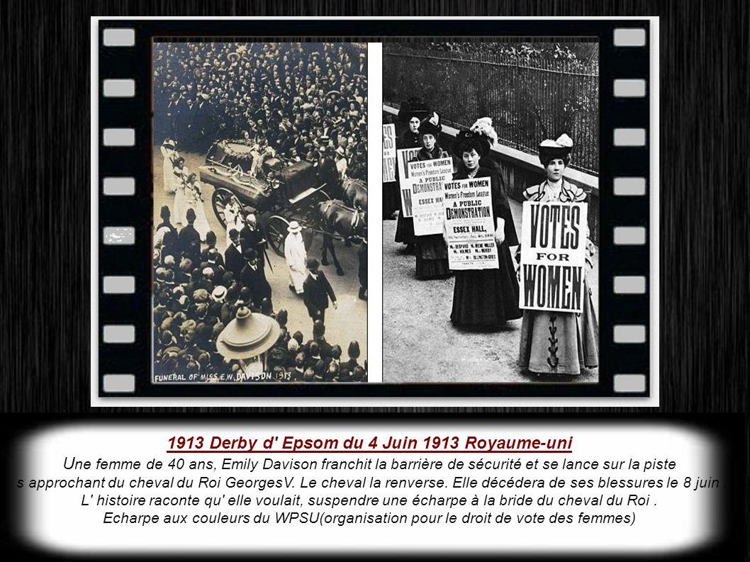 1913 Derby d Epsom du 4 Juin 1913 Royaume-uni