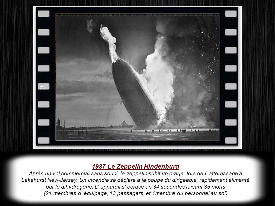 1937 Le Zeppelin Hindenburg
