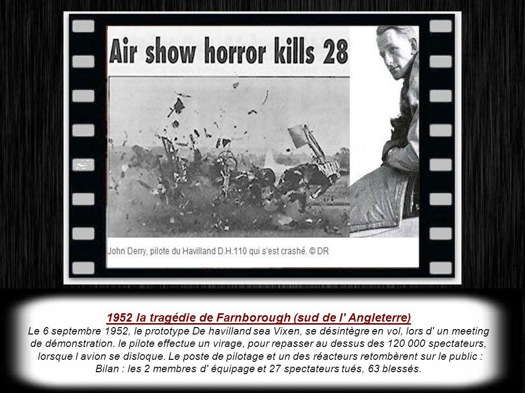 1952 la tragédie de Farnborough (sud de l Angleterre)