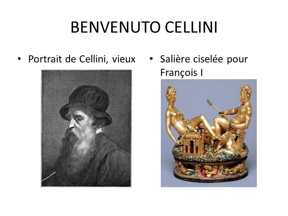 BENVENUTO CELLINI Portrait de Cellini, vieux