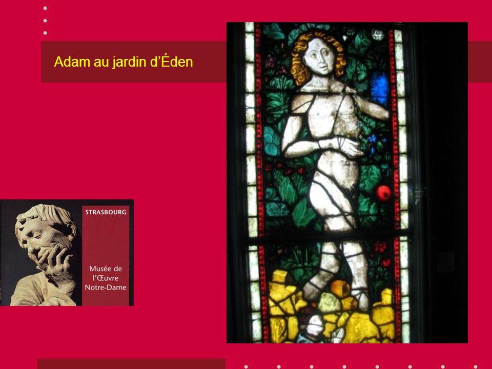 Adam au jardin d'Éden