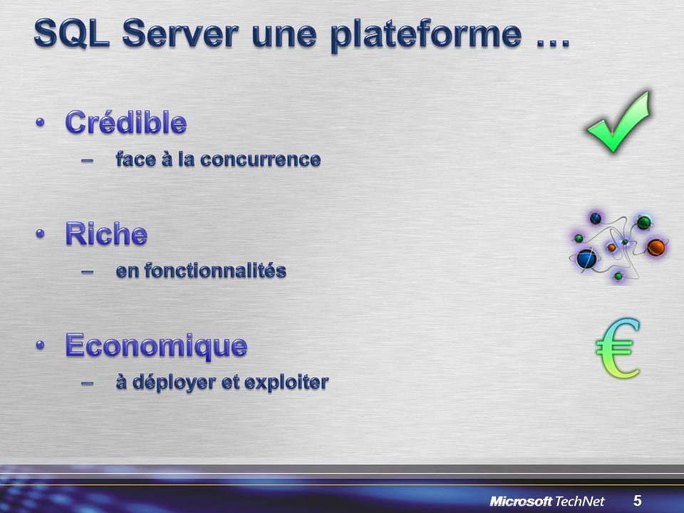 SQL Server une plateforme …
