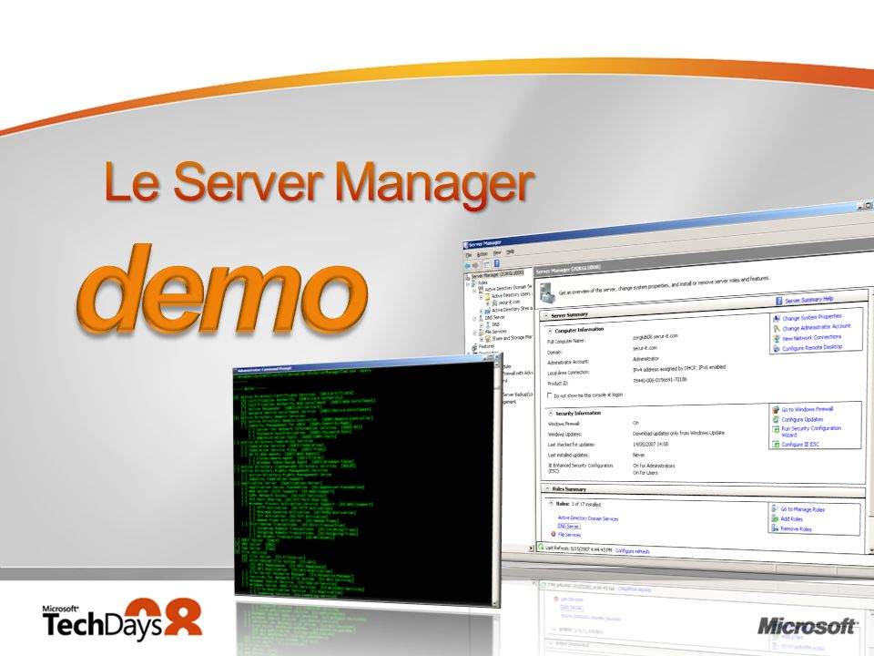 demo Le Server Manager 3/30/2017 12:05 PM