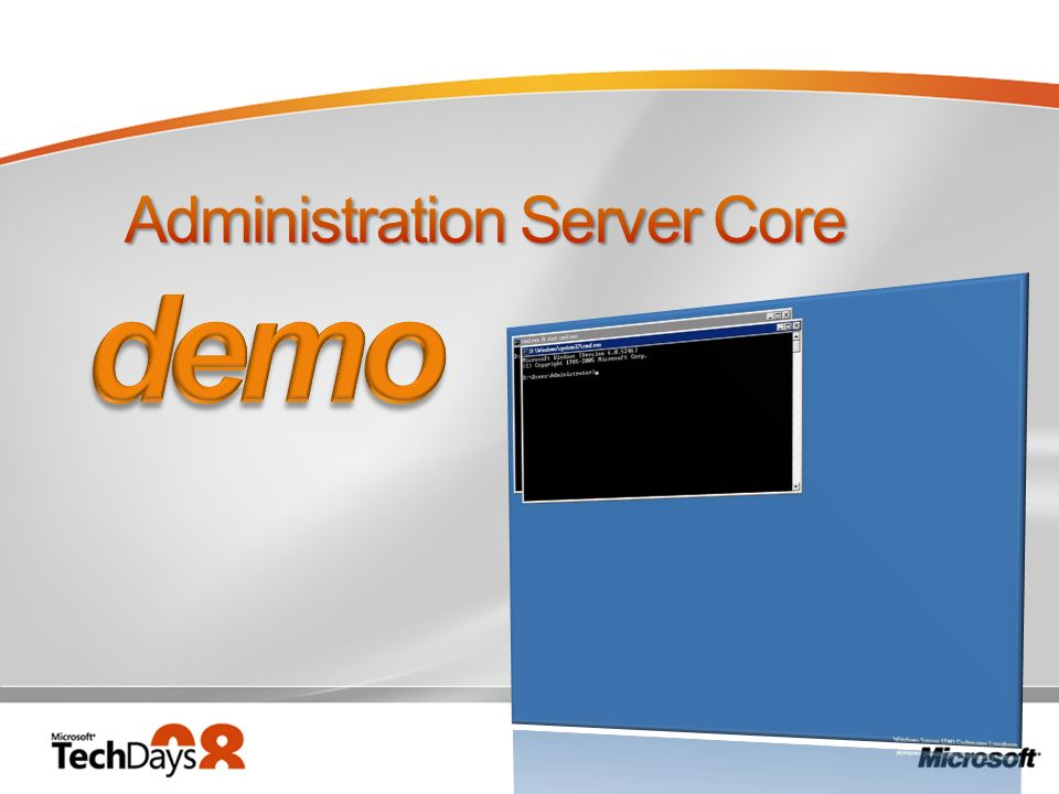 Administration Server Core