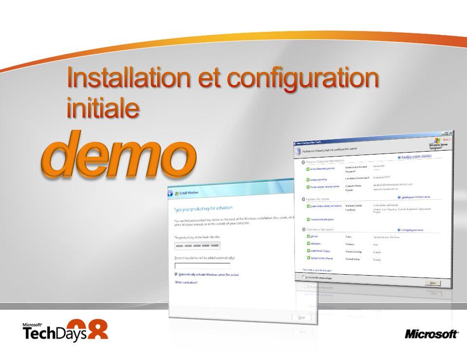 Installation et configuration initiale