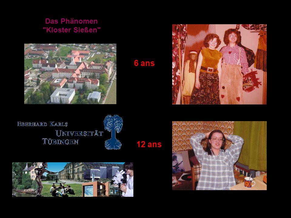 Das Phänomen Kloster Sießen 6 ans 12 ans