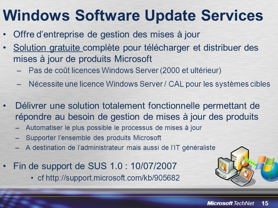 Windows Software Update Services