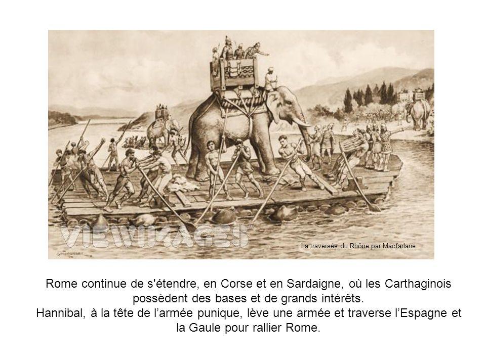 La traversée du Rhône par Macfarlane.