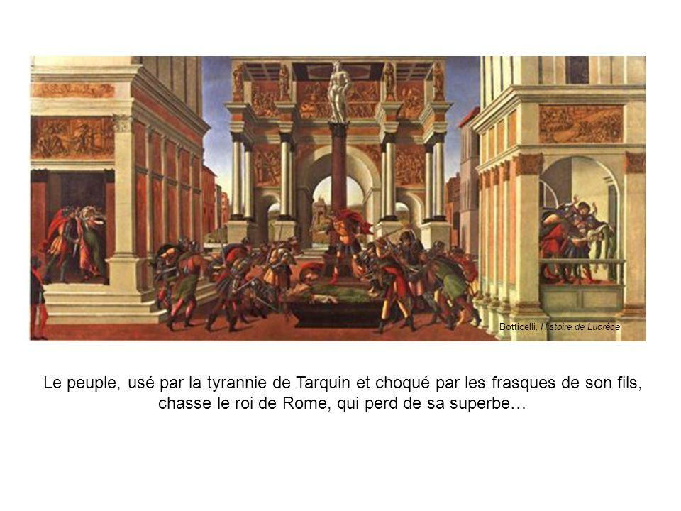Botticelli, Histoire de Lucrèce