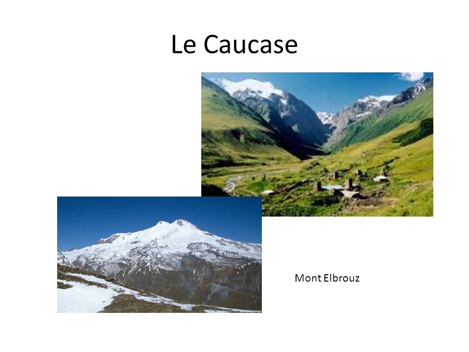 Le Caucase Mont Elbrouz