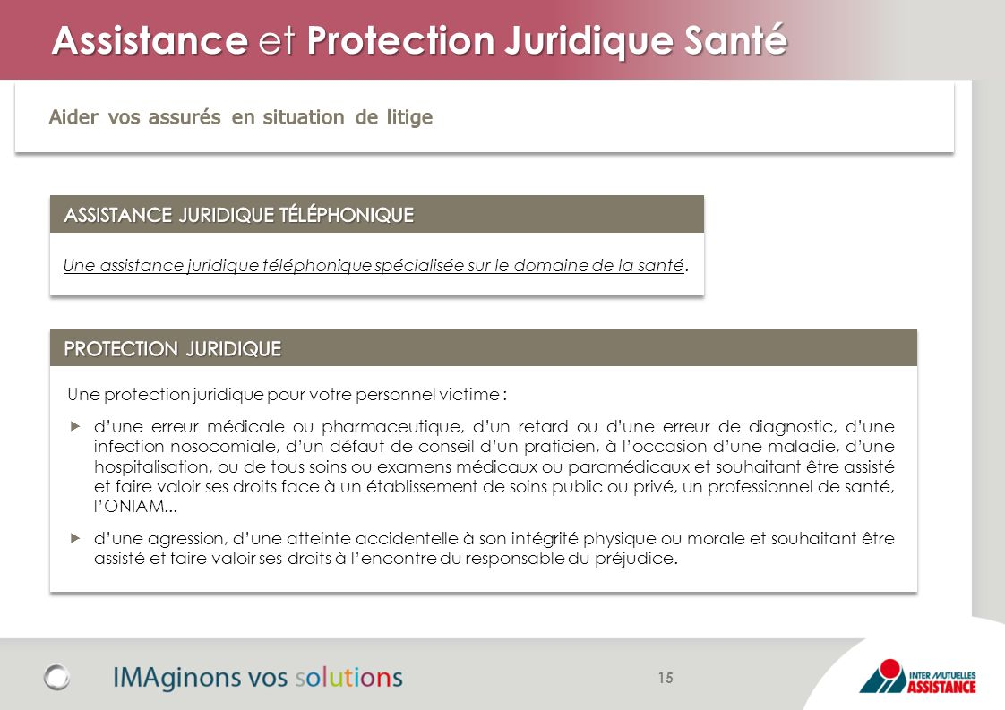 Assistance et Protection Juridique Santé