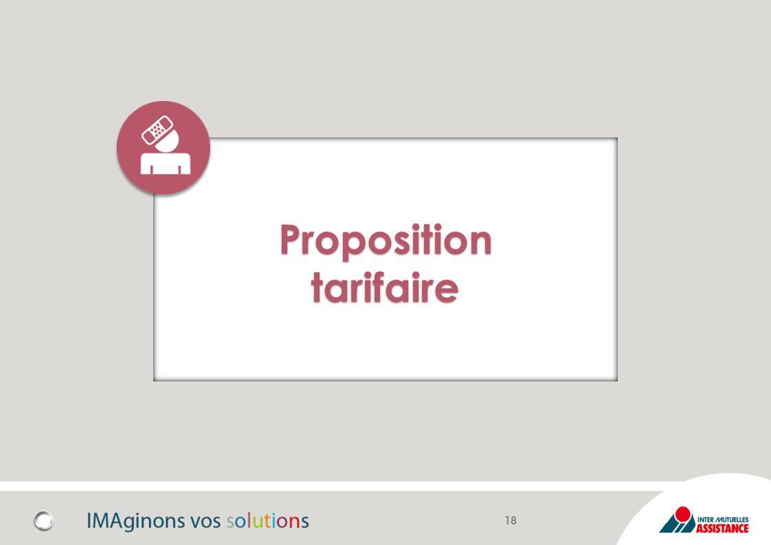 Proposition tarifaire
