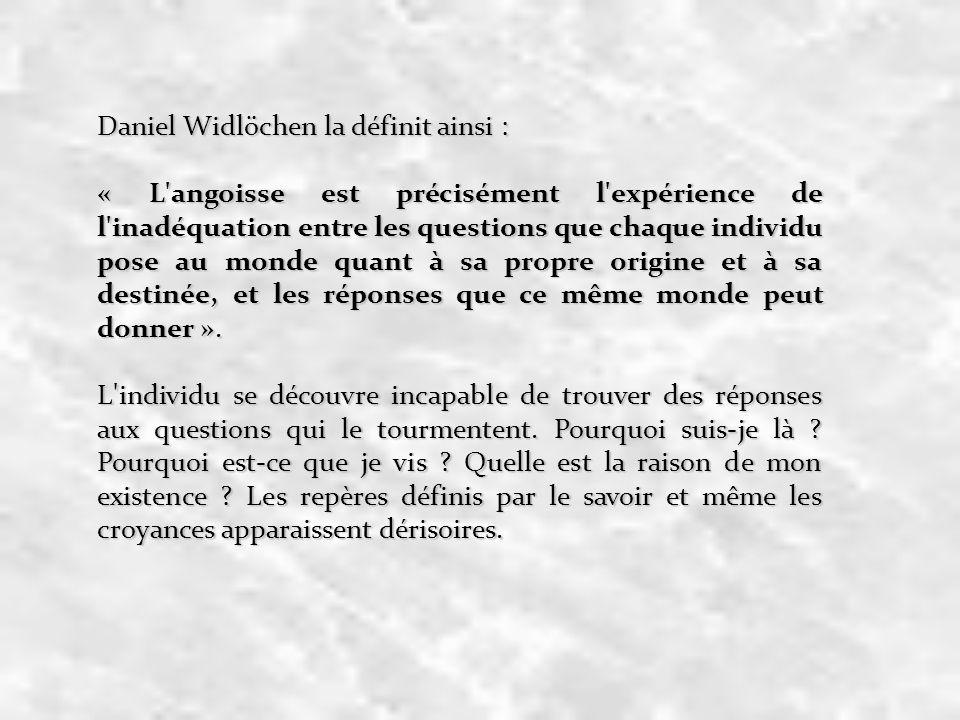 Daniel Widlöchen la définit ainsi :