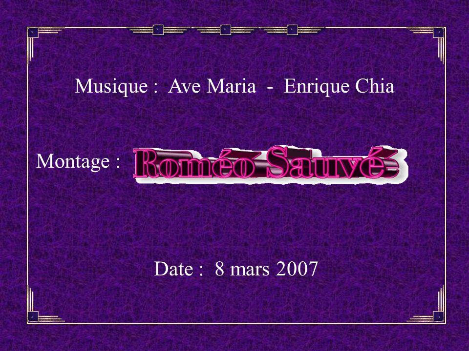 Musique : Ave Maria - Enrique Chia