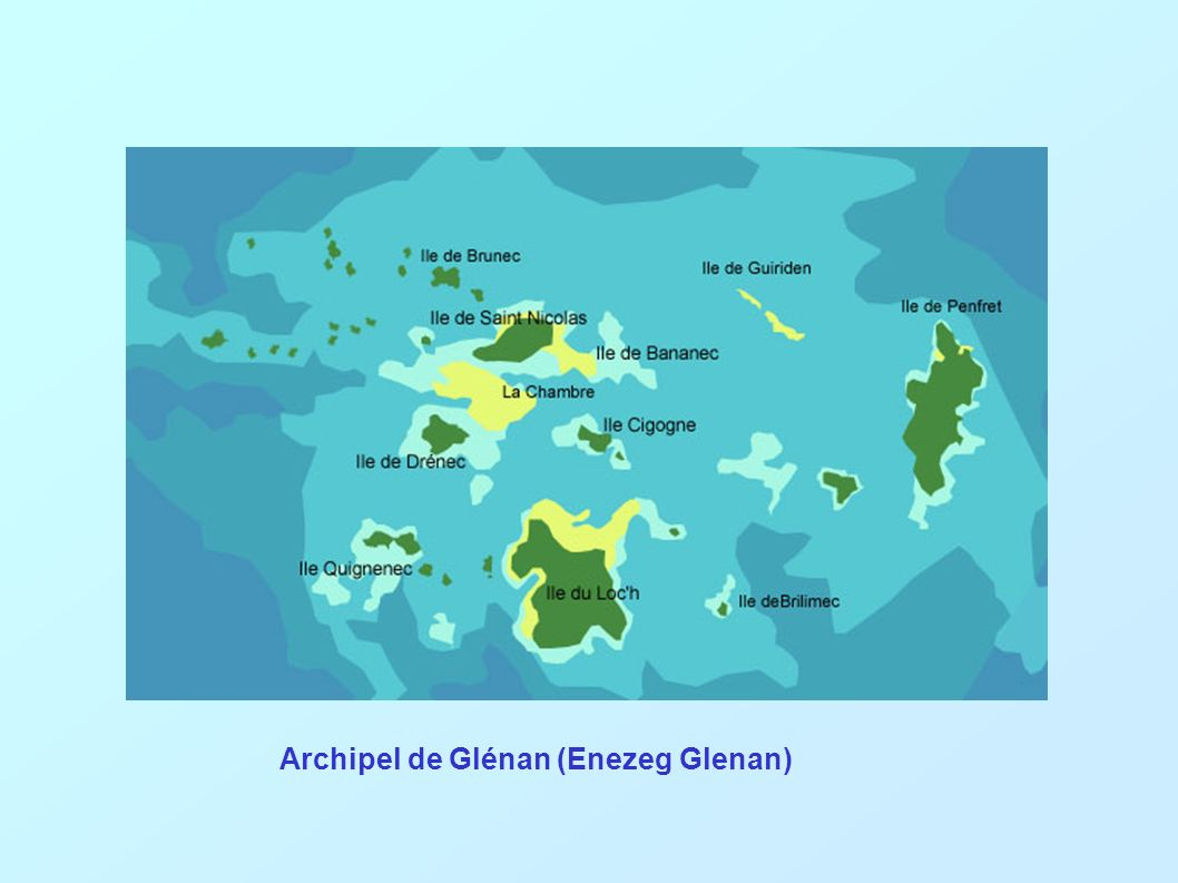 Archipel de Glénan (Enezeg Glenan)