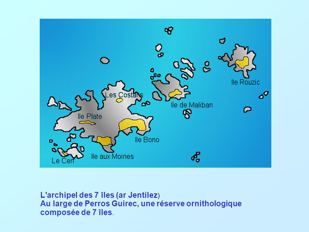L archipel des 7 îles (ar Jentilez)