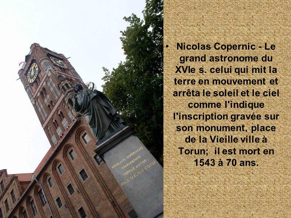 Nicolas Copernic - Le grand astronome du XVIe s