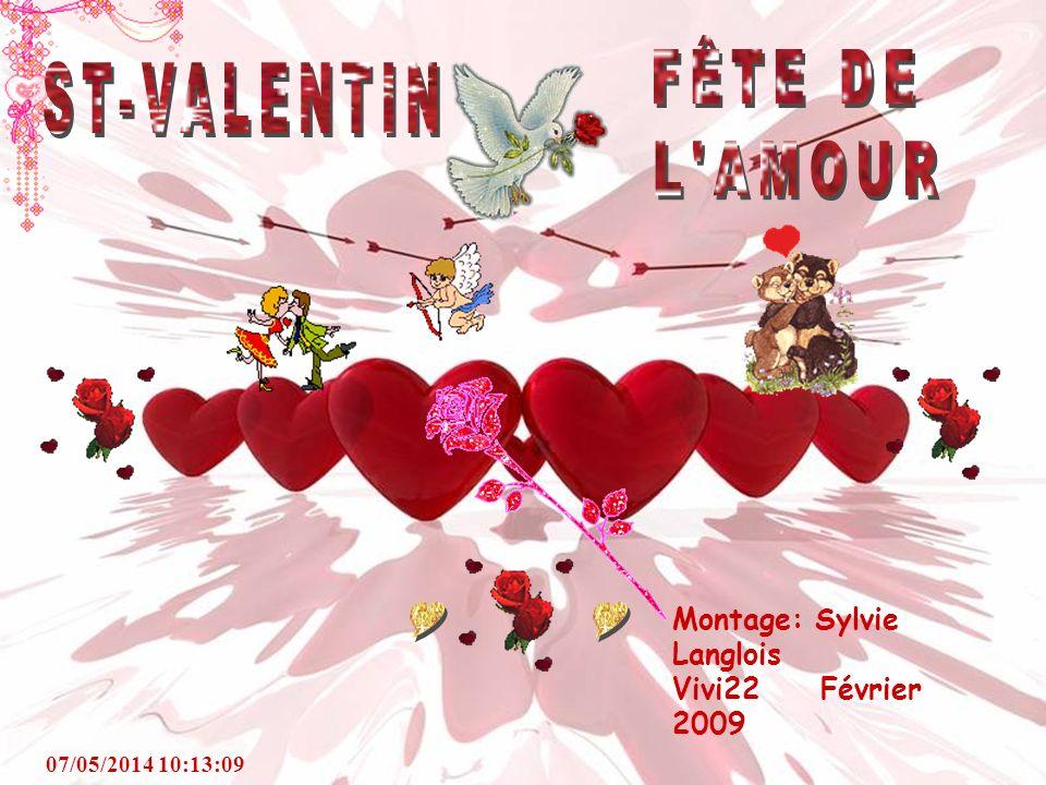 FÊTE DE L AMOUR ST-VALENTIN Y Y Montage: Sylvie Langlois