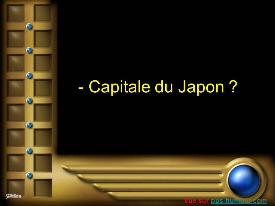- Capitale du Japon Vue sur pps-humour.com