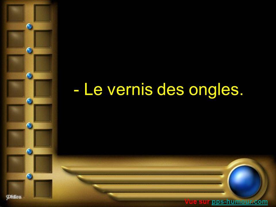 - Le vernis des ongles. Vue sur pps-humour.com