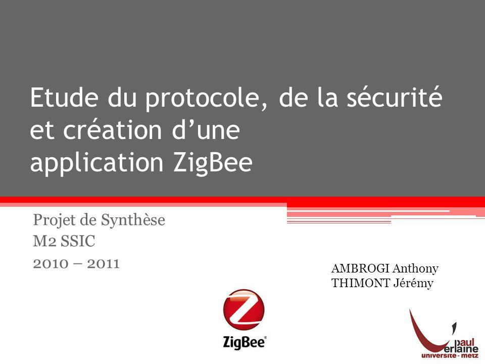 Projet de Synthèse M2 SSIC 2010 – 2011