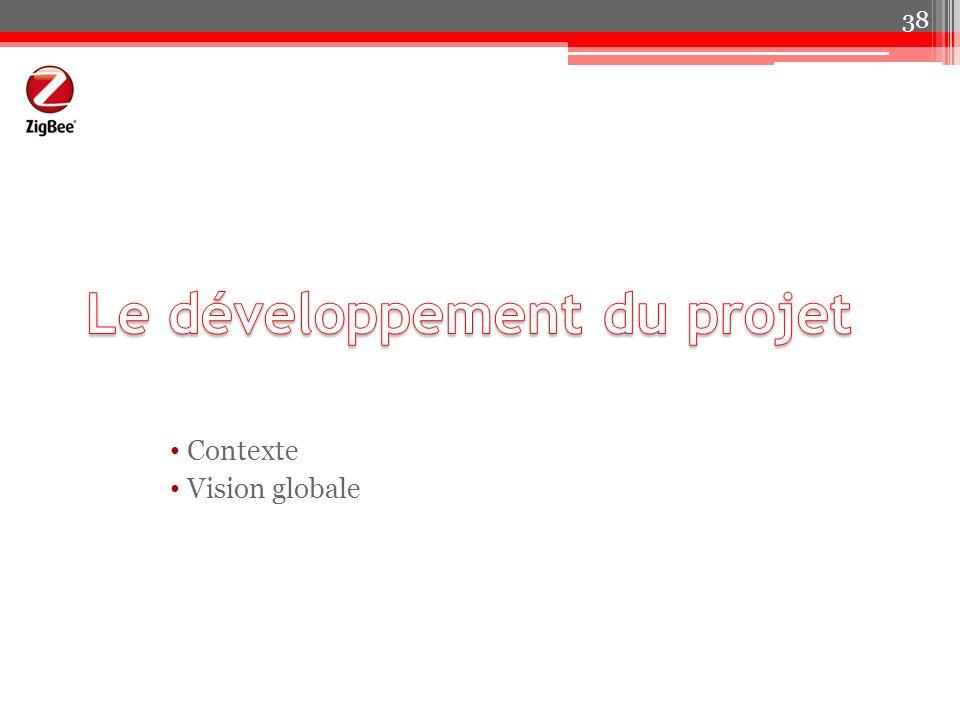 Le développement du projet