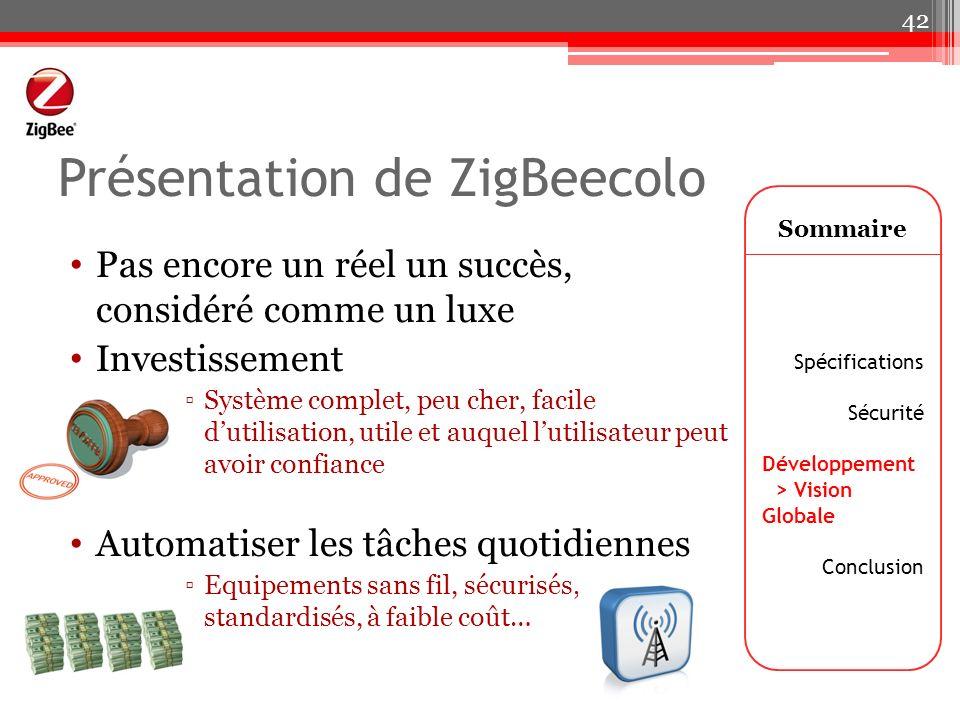 Présentation de ZigBeecolo