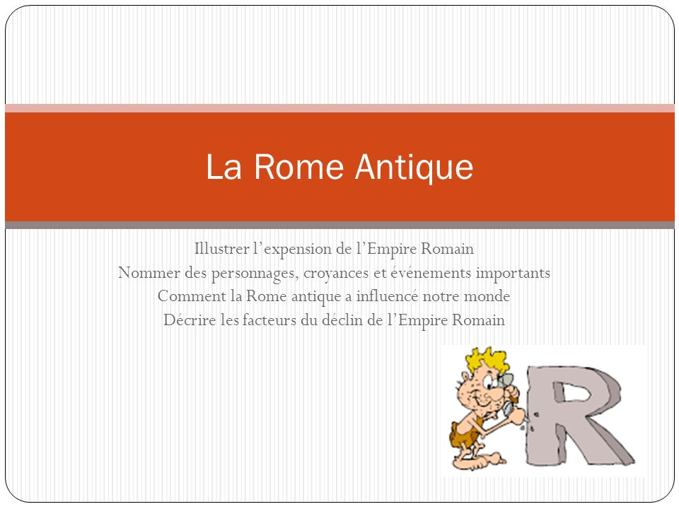La Rome Antique Illustrer l'expension de l'Empire Romain