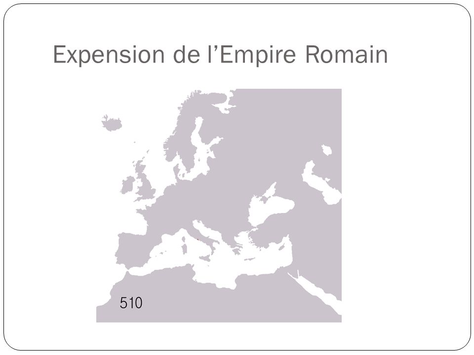 Expension de l'Empire Romain