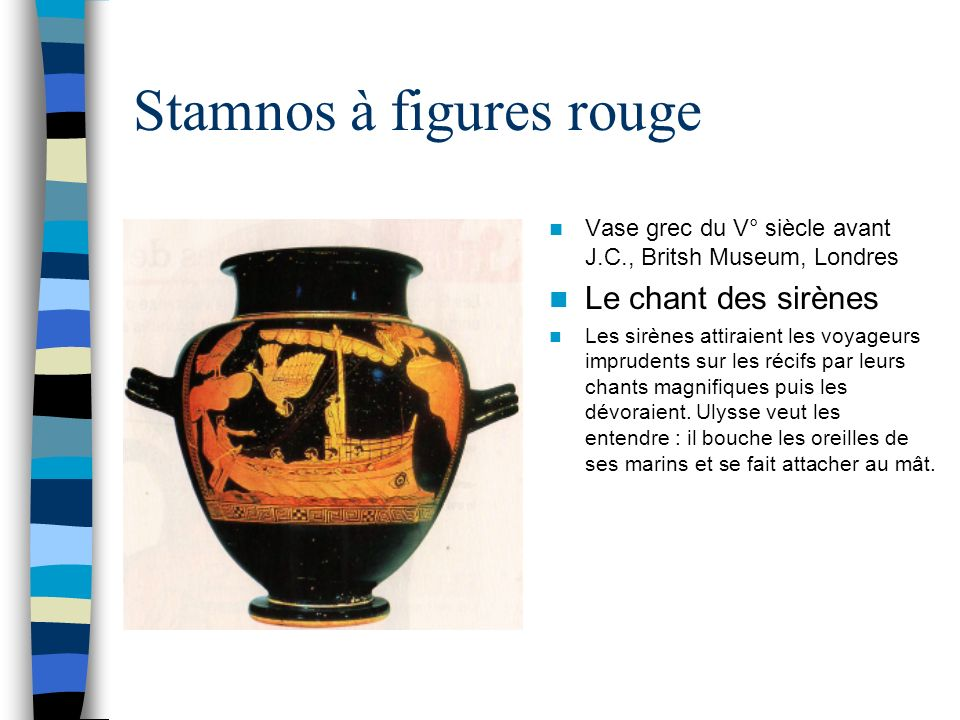 Stamnos à figures rouge