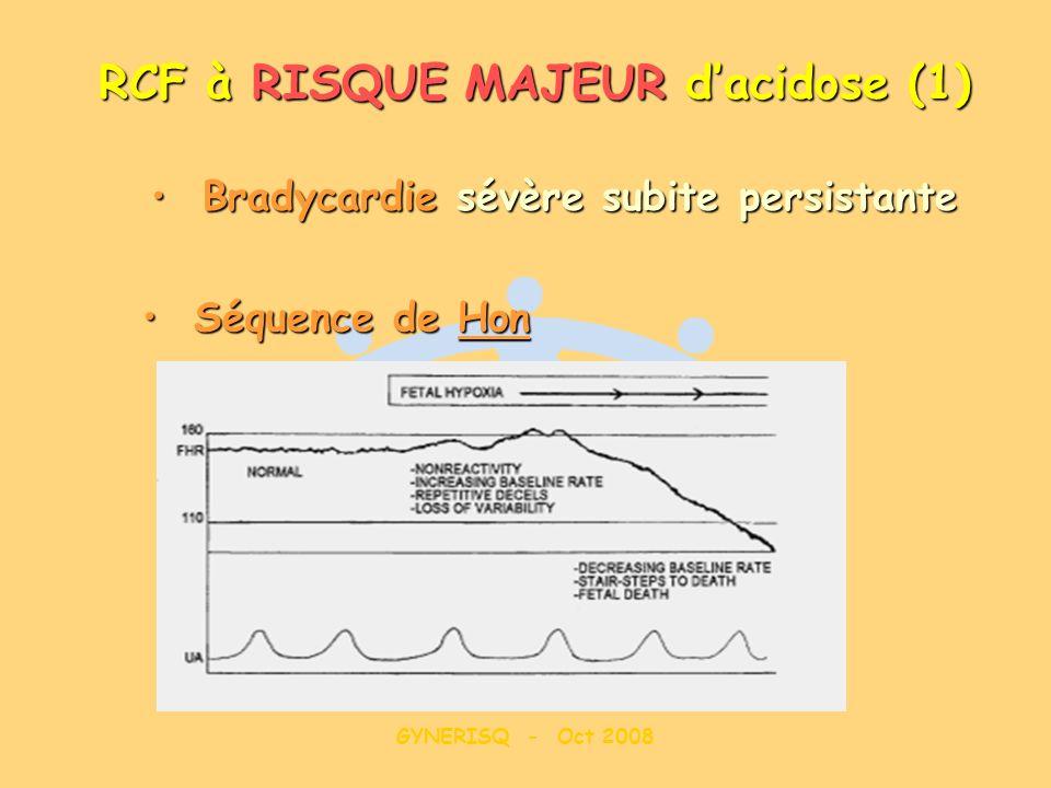 RCF à RISQUE MAJEUR d'acidose (1)