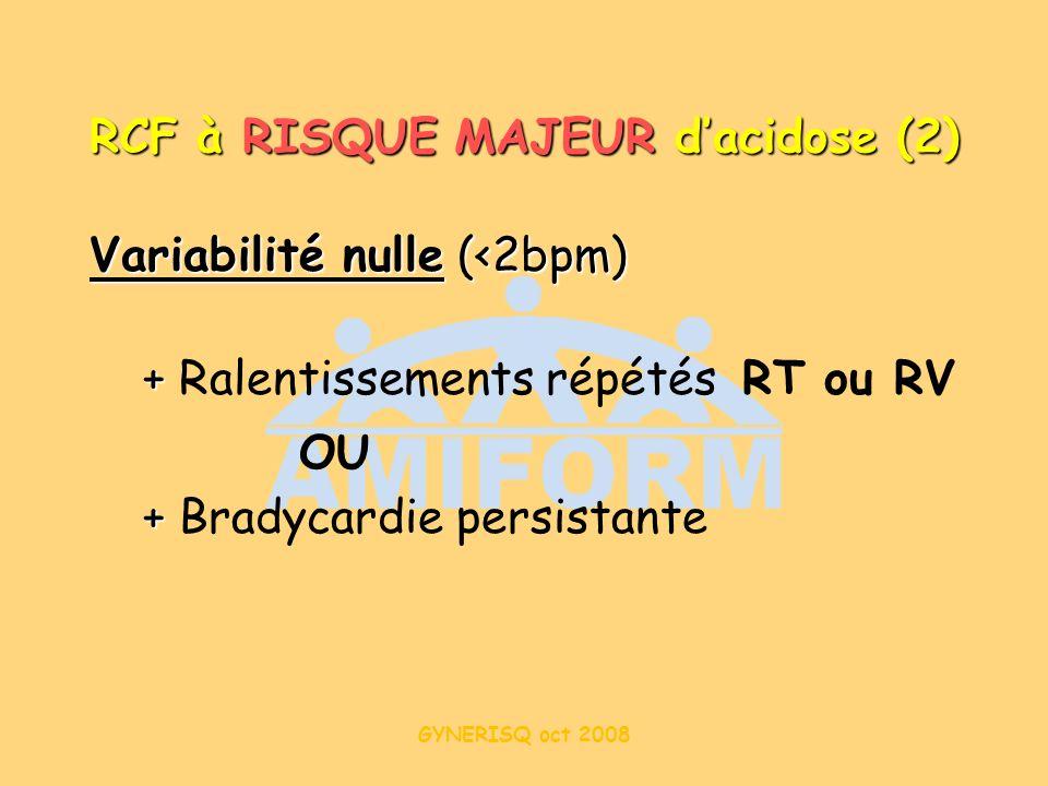 RCF à RISQUE MAJEUR d'acidose (2)