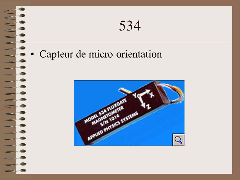 534 Capteur de micro orientation