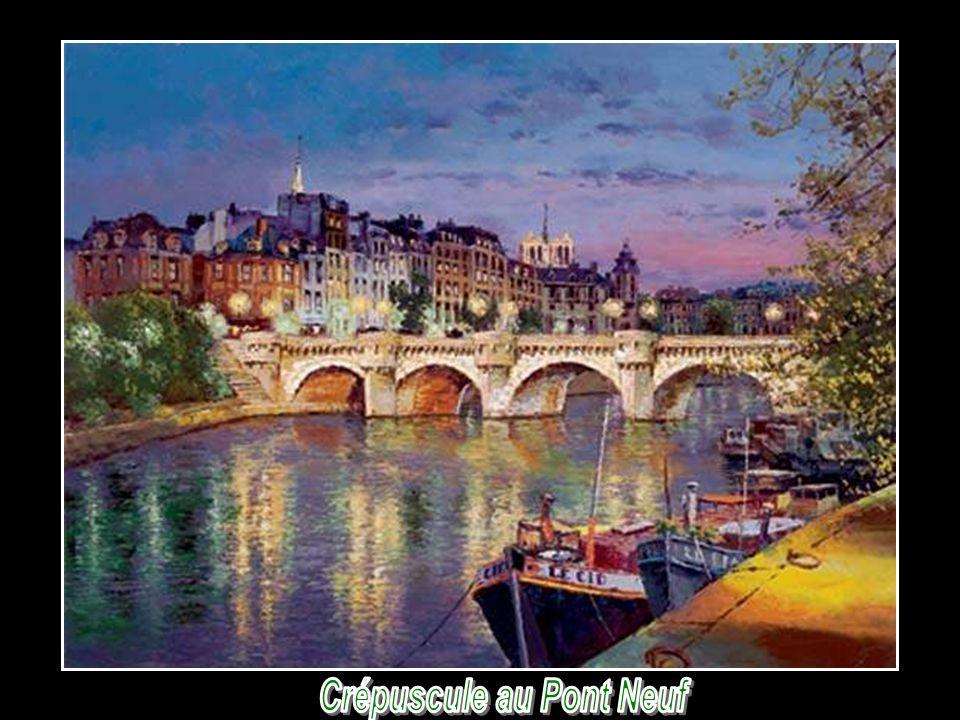 Crépuscule au Pont Neuf