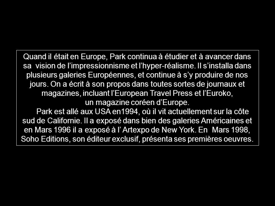 un magazine coréen d'Europe.
