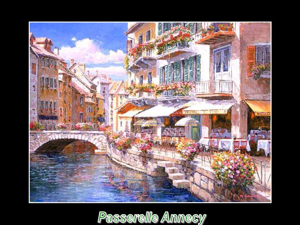 Passerelle Annecy