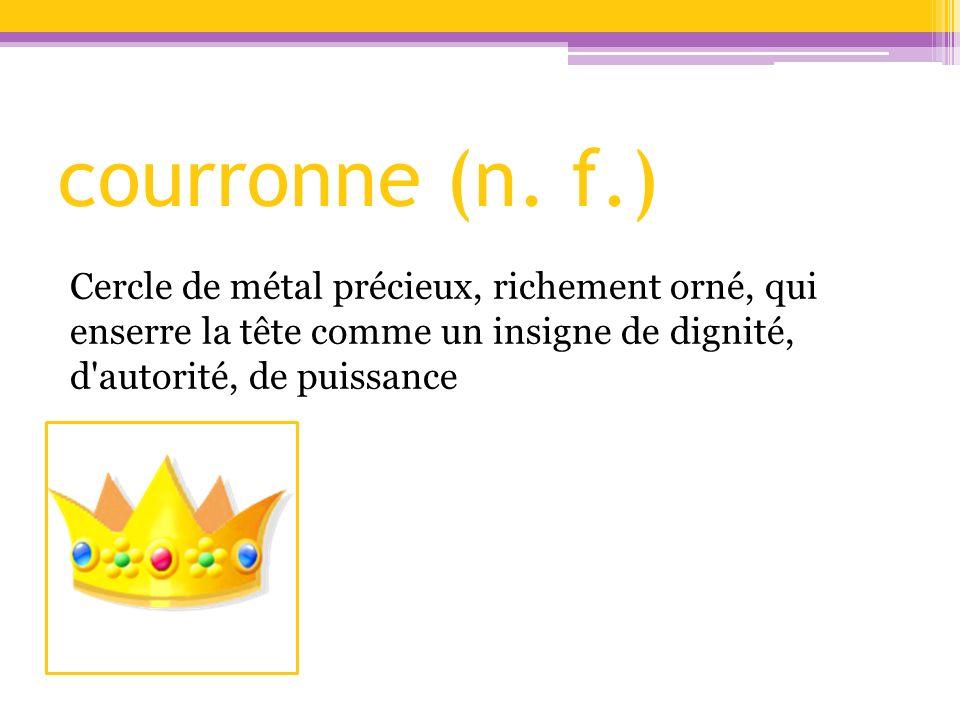 courronne (n.