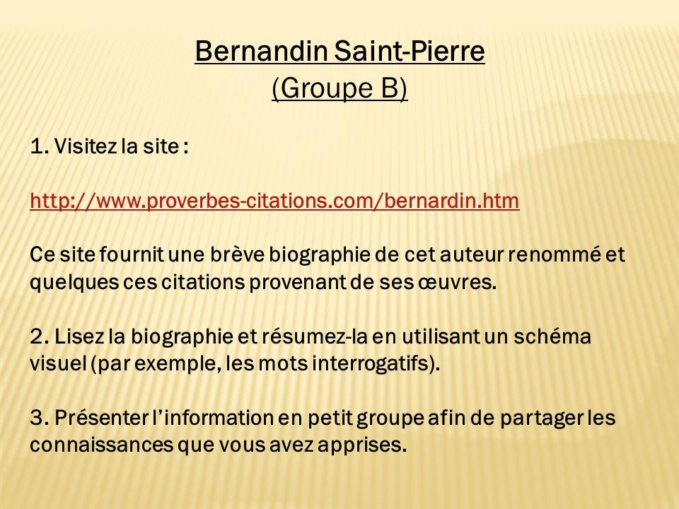 Bernandin Saint-Pierre