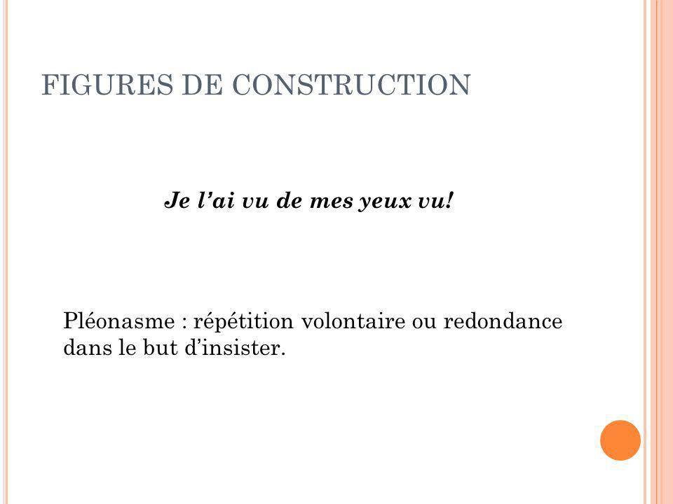FIGURES DE CONSTRUCTION