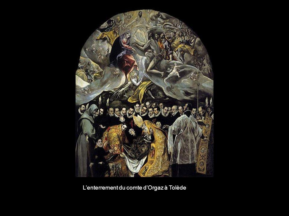 L'enterrement du comte d'Orgaz à Tolède