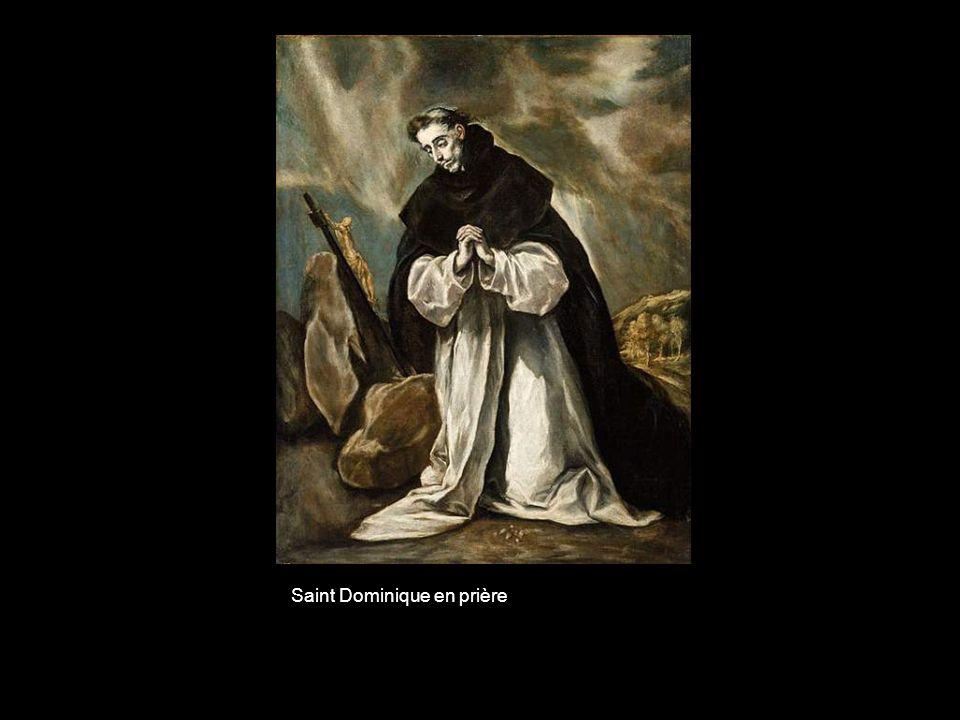 Saint Dominique en prière