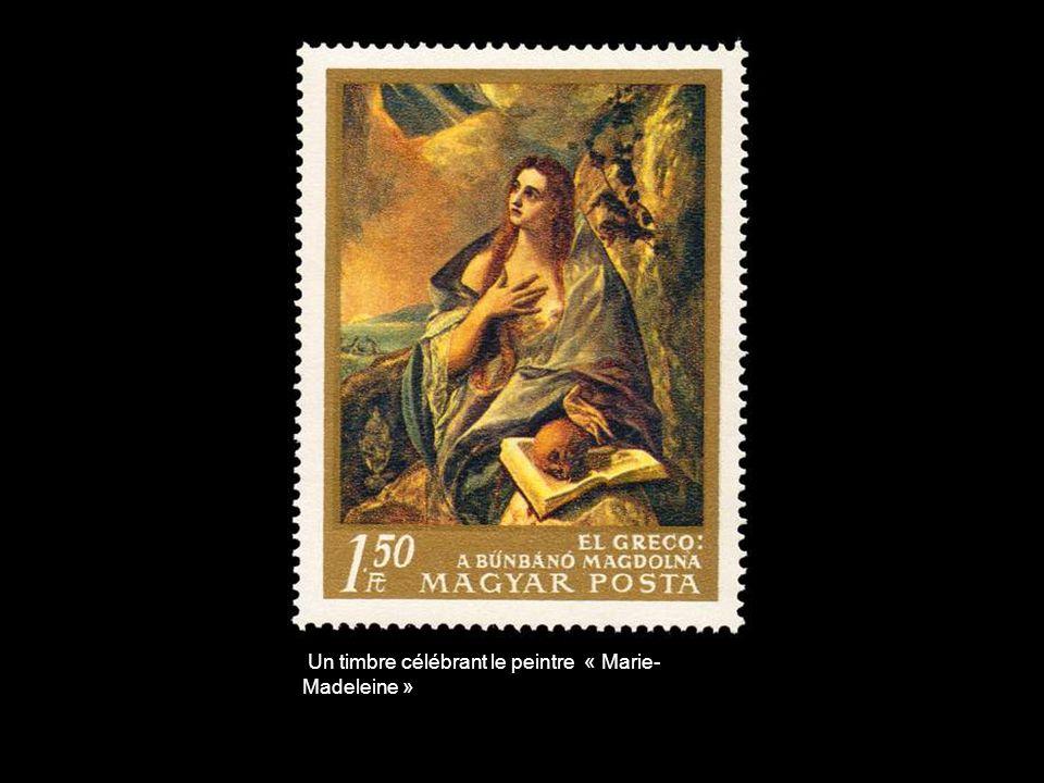 Un timbre célébrant le peintre « Marie-Madeleine »