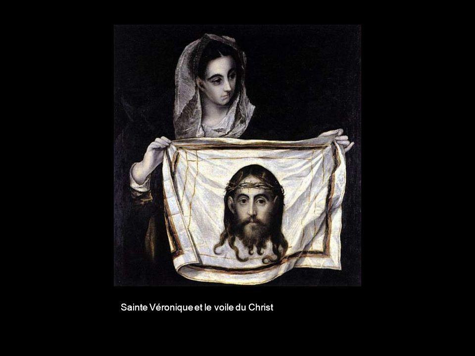 Sainte Véronique et le voile du Christ