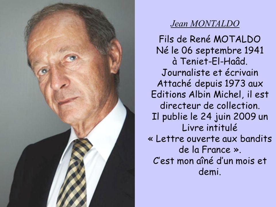 Journaliste et écrivain Attaché depuis 1973 aux