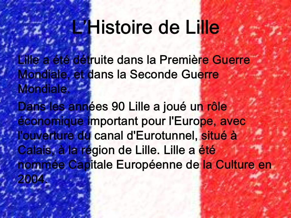 L'Histoire de Lille